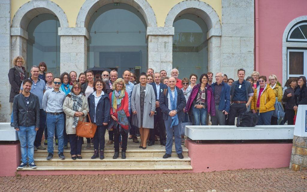 Foto de grupo com os representantes da C. M. Cascais